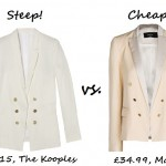 Steep vs. Cheap: The Summer Blazer