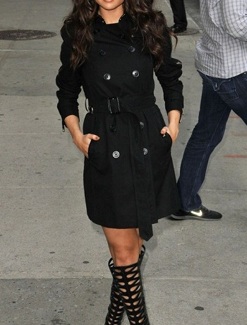 Selena Gomez is Best Dressed of the Week in Burberry and Brian Atwood