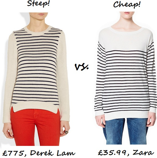 Steep v cheap breton sweater