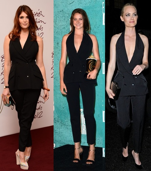 Gemma Arterton vs. Shailene Woodley vs. Amber Valletta: Who wore Stella McCartney better?