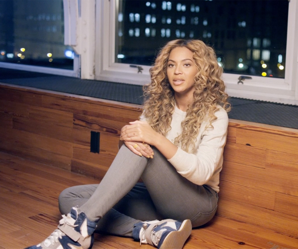 Watch Beyonce discuss the woman who inspires her most in new Gucci Chime for Change video