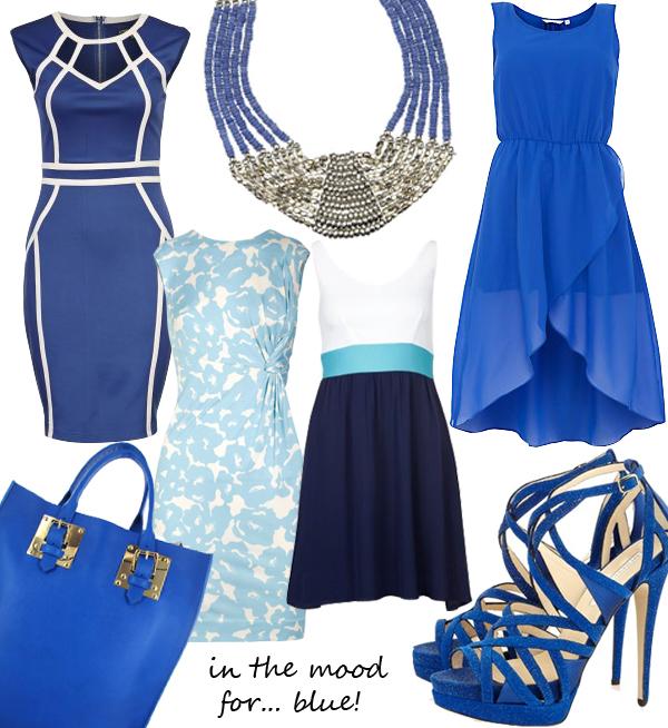 Midweek Moodboard: Smurf blue!