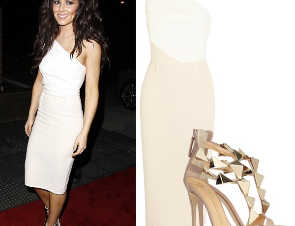 Get Cheryl Cole's chic colour block look