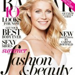 Gwyneth Paltrow is all smiles for Harper's Bazaar US May