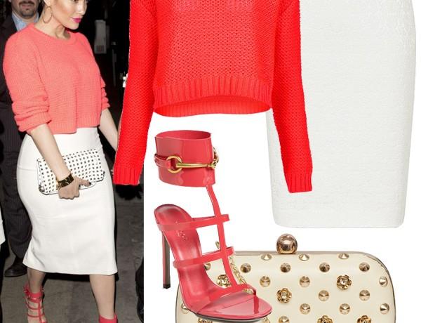 Get Jennifer Lopez's Topshop/designer look