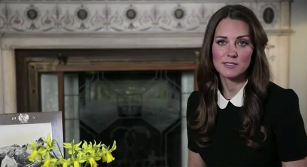 Topshop-clad Kate Middleton gives moving speech for Children's Hospice Week