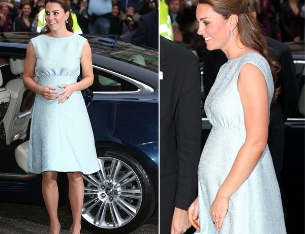Kate Middleton is flawless in baby blue Emilia Wickstead