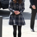Kate Middleton wears tartan Moloh in Glasgow