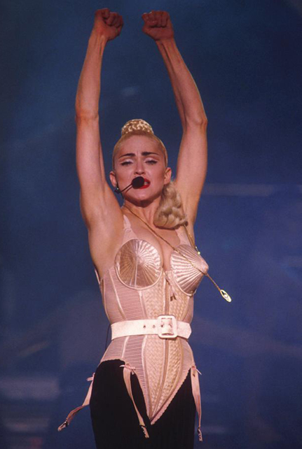 Macy's opens pop up Madonna fashion exhibit