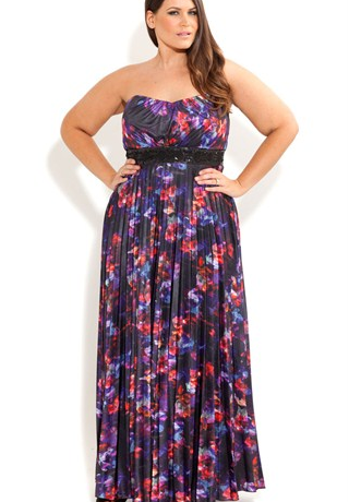 Lunchtime Buy: Floral maxi dress