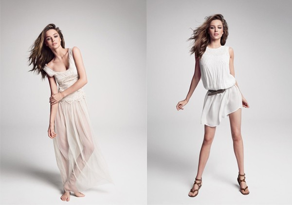 Miranda Kerr's Mango SS13 lookbook and video are here!