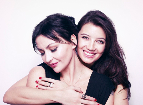 Pearl and Daisy Lowe lend support to Fashion Target Breast Cancer