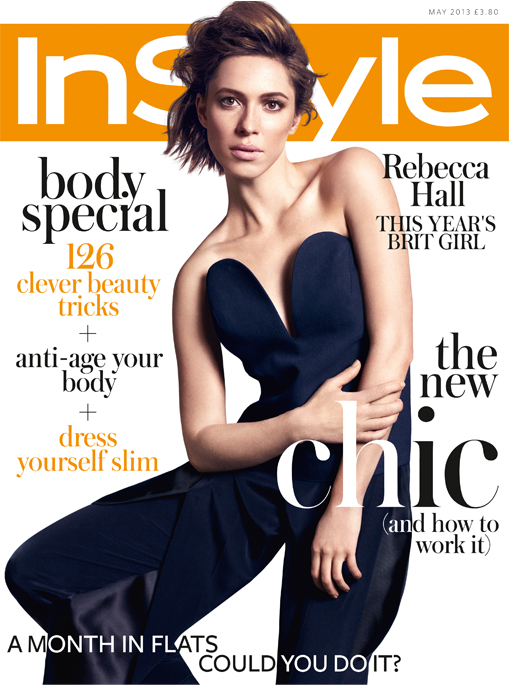 Rebecca Hall stuns on InStyle UK's May cover