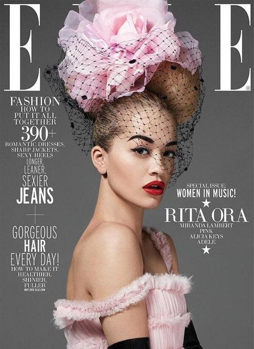 Rita Ora for Elle US 'Women in Music' May issue