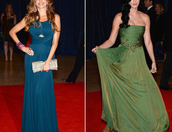 Sofia Vergara and Katy Perry wow at White House Correspondents Dinner