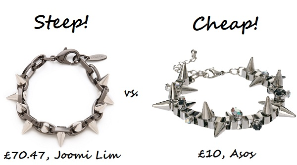 steep v cheap bracelet
