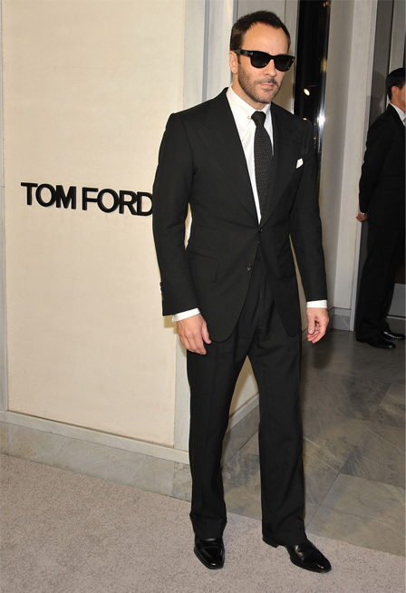 """I'm not designing clothes for someone who is doing lines of coke off the table, like I was when I was at Gucci and Saint Laurent"" – Tom Ford"