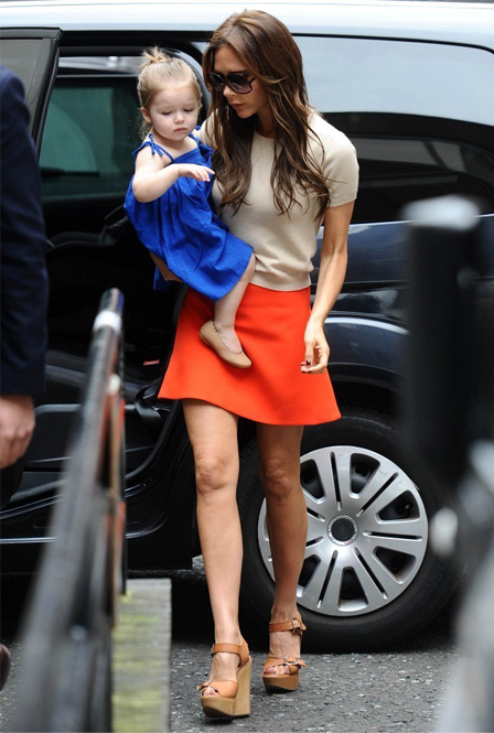 """You just do your best, but constantly feel guilty"" – Victoria Beckham on being a working mum"
