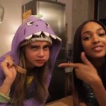 Cara Delevingne helps Jourdan Dunn kick off Season 2 of her cooking show