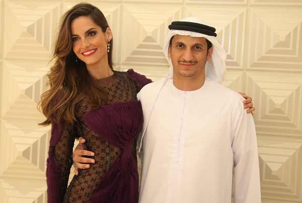 Ariadne Artiles and Khaled Al Muhairy