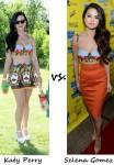 Katy Perry vs Selena