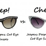Steep vs. Cheap: Embellished Cat Eye Sunglasses