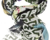 Mary Katrantzou Teleport Postage Stamp-Print Scarf: Yay or Nay?
