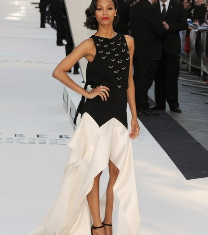 Zoe Saldana scoops Best Dressed of the Week in Vionnet