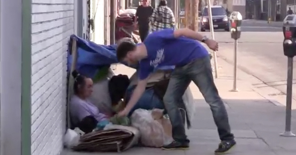 Greg Karber wants you to donate your Abercrombie and Fitch clothes to the homeless