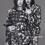 "Carine Roitfeld and her daughter pose for Givenchy's ""family values"" AW13 campaign"