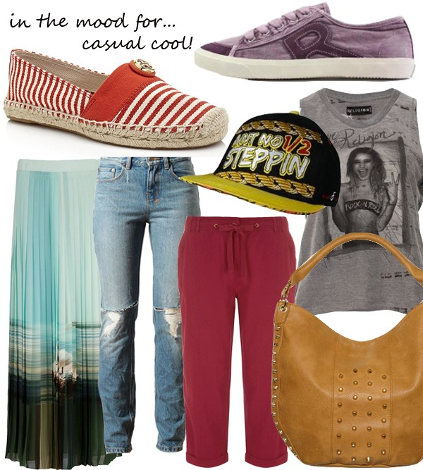 Midweek Moodboard: Casual cool