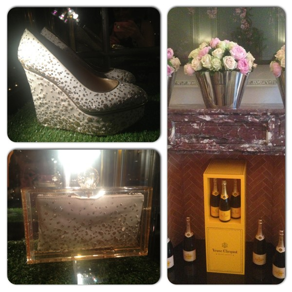 Charlotte Olympia launches Lovely Bubbly Veuve Clicquot collection!