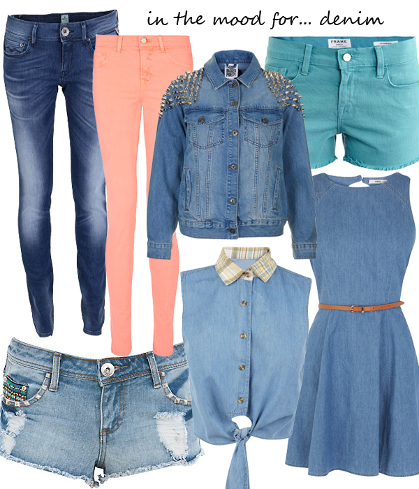 Midweek Moodboard: Denim