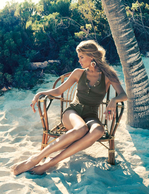 Doutzen Kroes for H&M's spring/summer 2013 campaign!