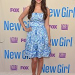 Hannah Simone ready for summer in Tory Burch