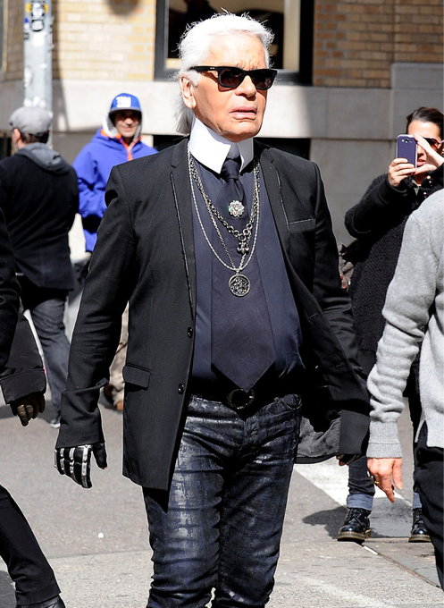 "Karl Lagerfeld: ""People are very nice to me, even though I'm known for saying rude things"""