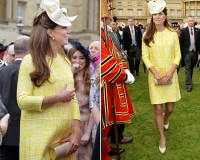 Kate Middleton in Emilia Wickstead for Queen's garden party