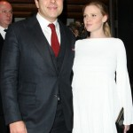 Lara Stone and David Walliams welcome baby boy!