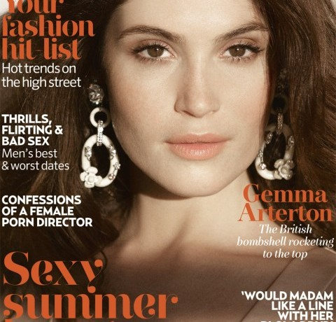 Gemma Arteton ready for her Marie Claire UK June close-up