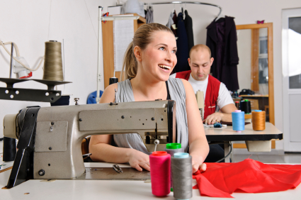 sewing machine dressmaking fashion