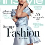 Zoe Saldana is InStyle UK's June cover girl