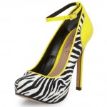 Lunchtime Buy: Stylistpick zebra print ankle strap courts