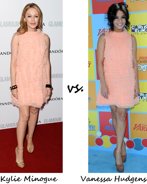 Kylie Minogue vs V Hudgens