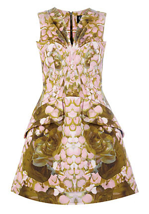 Buy of the Week: Petal Print Exaggerated Dress by McQ Alexander McQueen