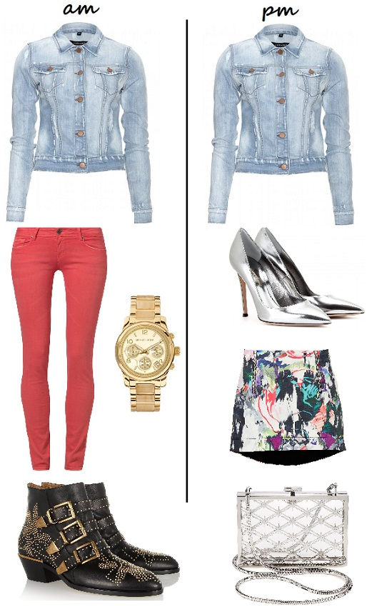 2 Ways to wear the denim jacket