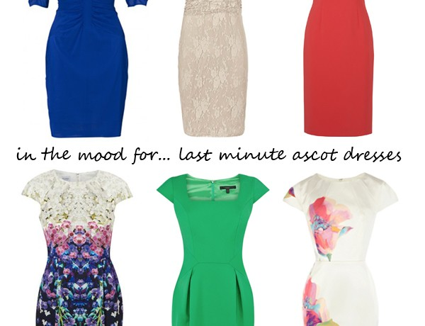 Midweek Moodboard: Last minute Royal Ascot dresses
