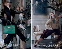 Cara Delevingne is the star of Mulberry's AW13 ad campaign