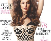 Cheryl Cole stuns in Dolce and Gabbana for InStyle UK's July issue