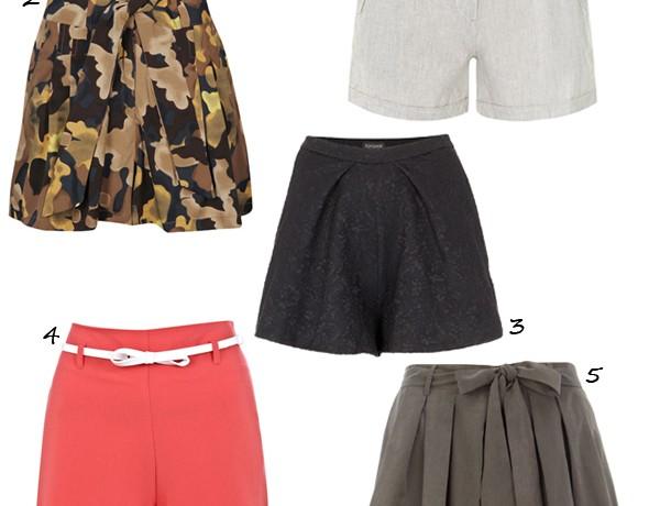 5 chic shorts under £30