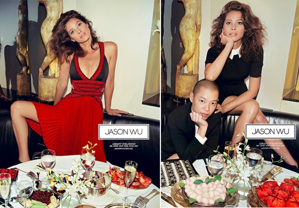 Christy Turlington's Mr Chow Jason Wu AW13 ad campaign